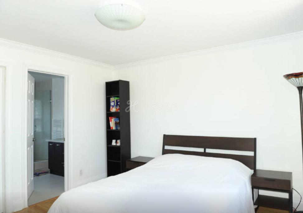 溫暖茹家-多倫多北約克舒適大床套房