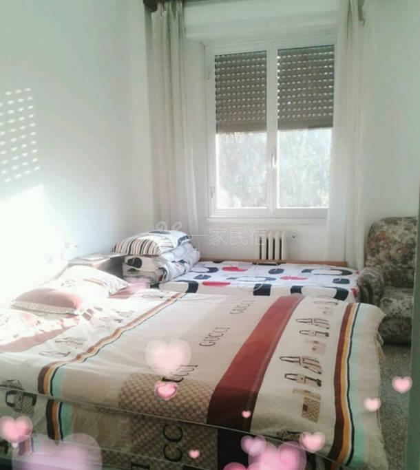 意大利米兰阳光家庭旅馆 三人间