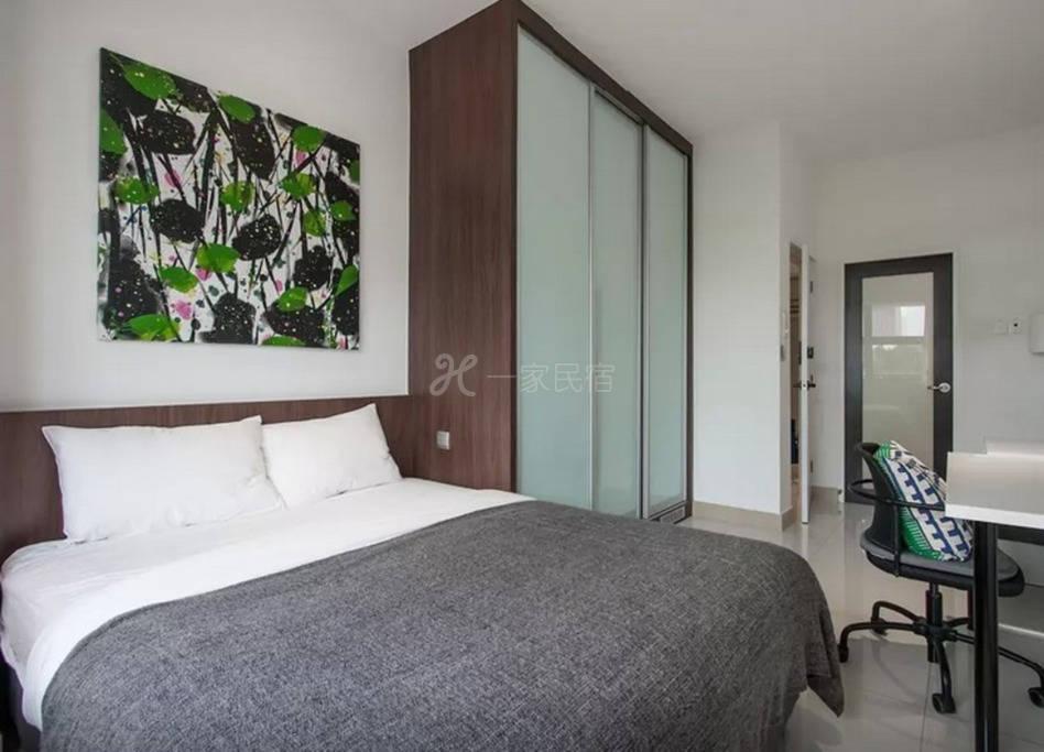 新加坡沿海豪华别墅 5号房 超大豪华双人套房 独卫