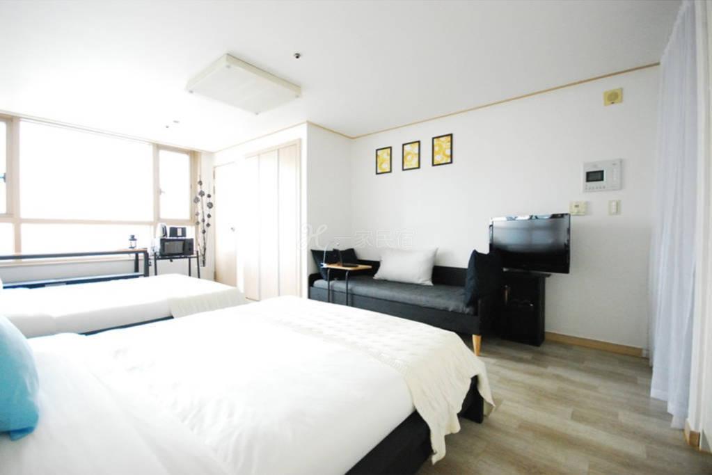 韩国首尔适合去旅游的房间六人间 B