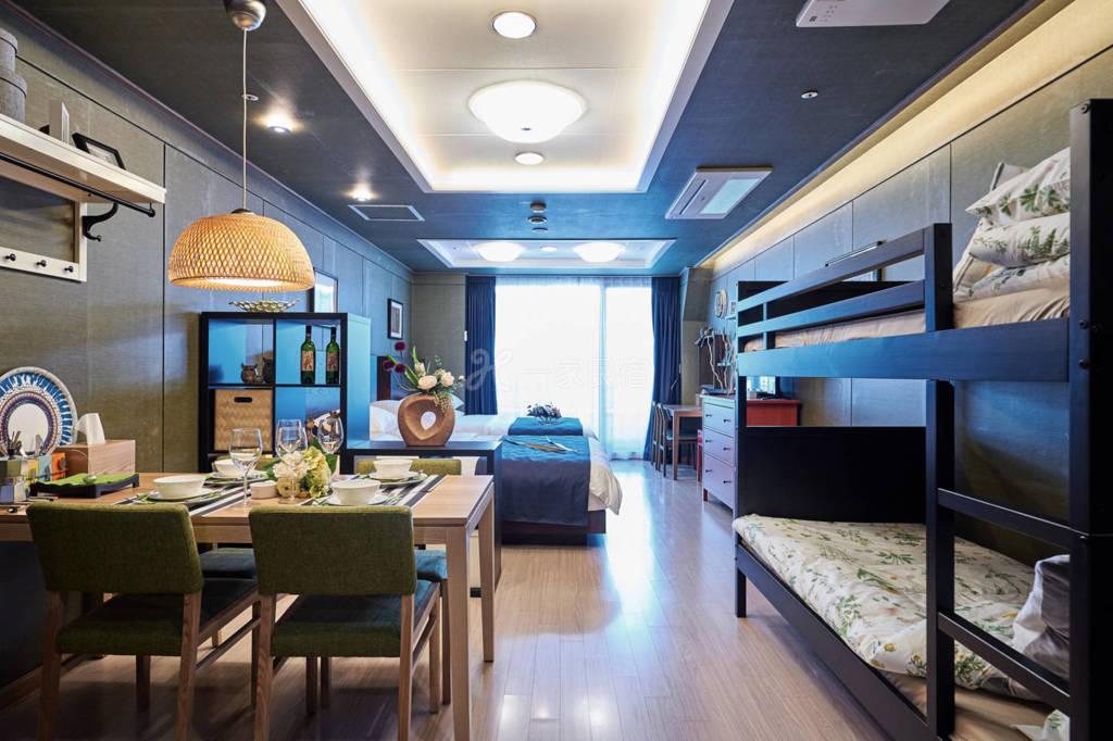 韩国首尔专业设计师设计的工作室D  可住六人