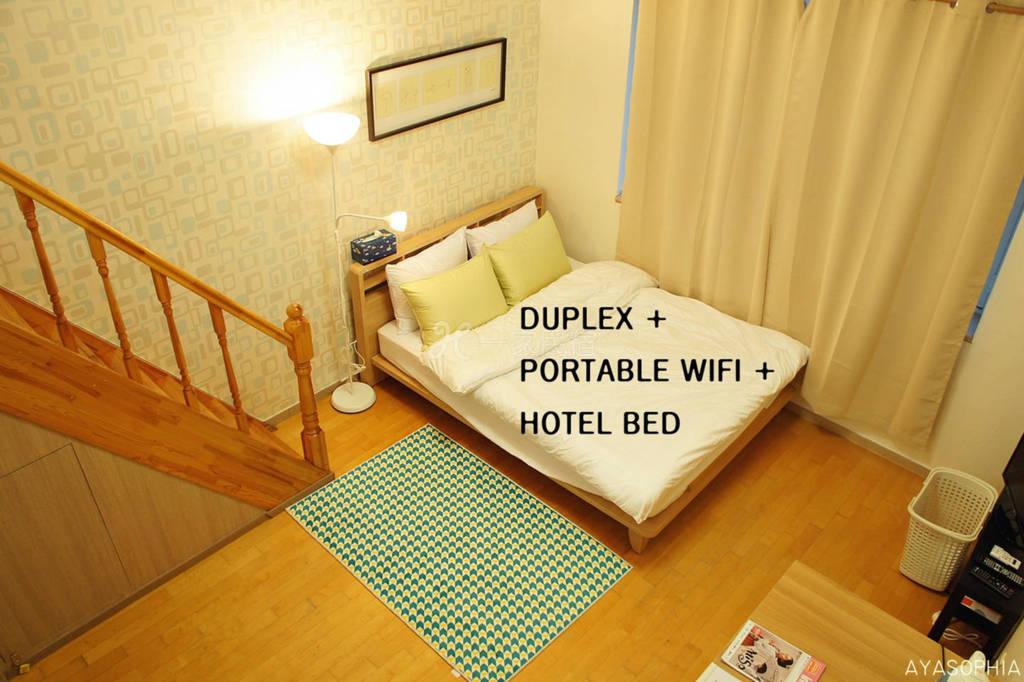 韩国 首尔 复式酒店床,距离车站很近2