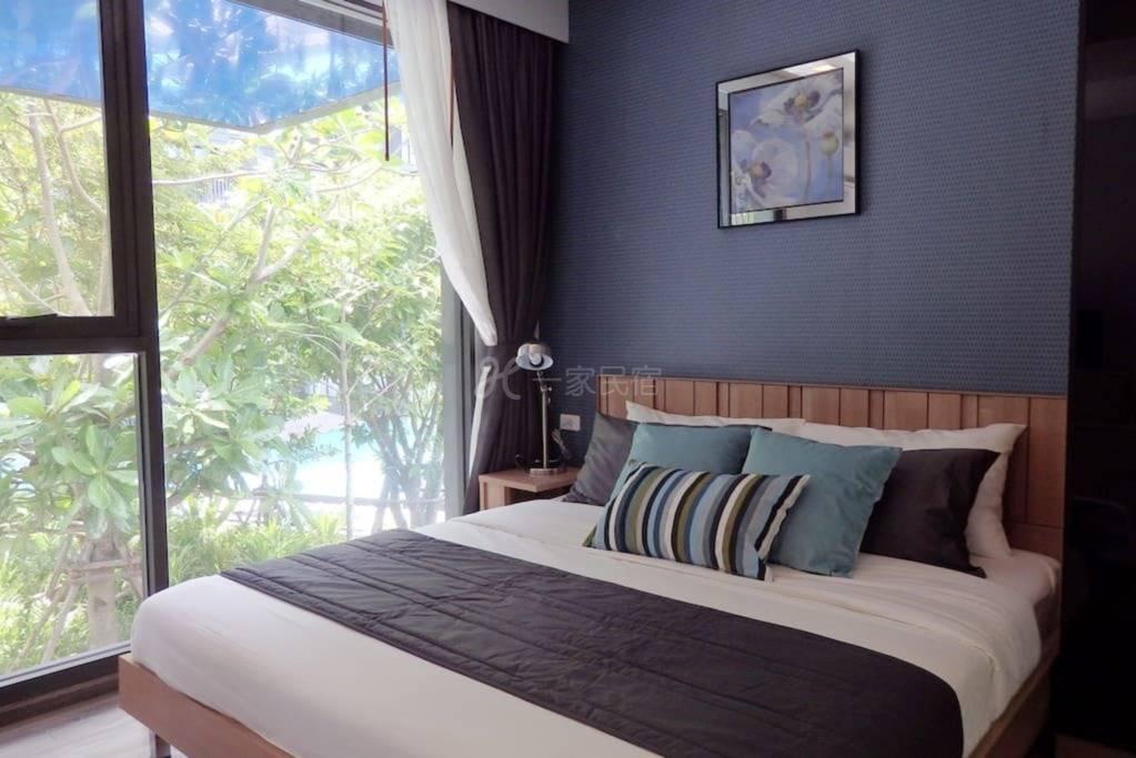 泳池景观客房,甲板公寓芭东海滩,新!