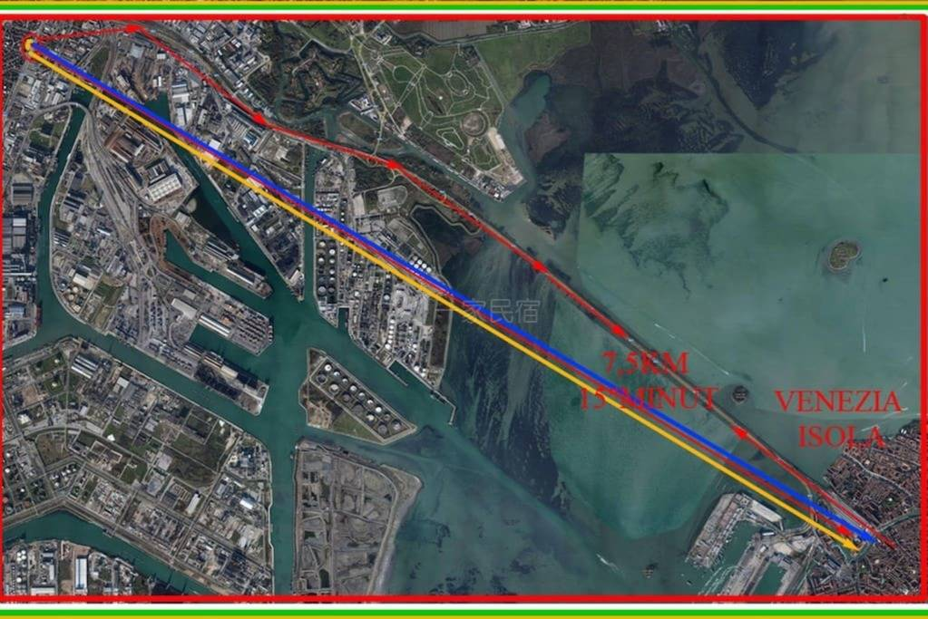 推薦!經濟實惠小房間10分鐘去威尼斯水城中心!靠近MESTRE火車站!