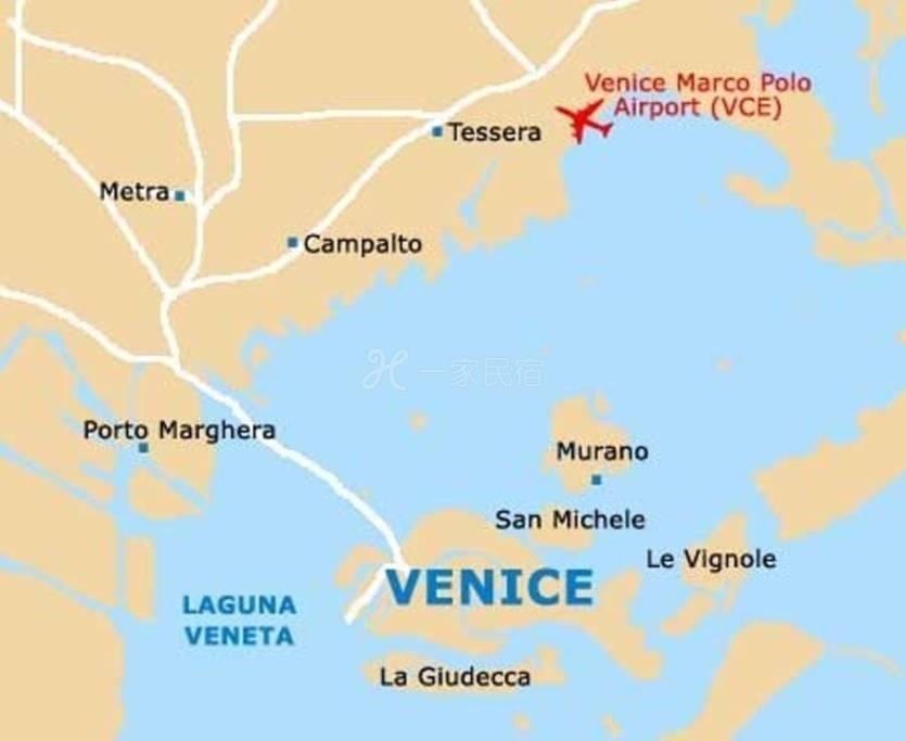 強烈推薦威尼斯麥斯特站華人套房式旅館
