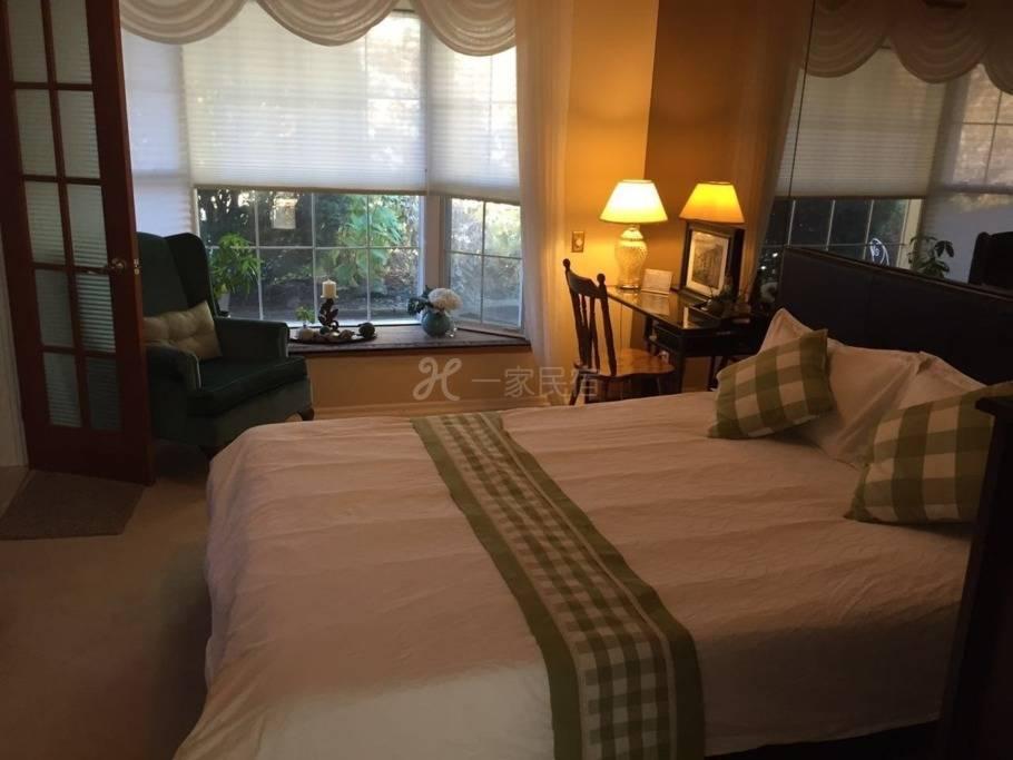 """锦园别墅""""环境优美高雅,拥有本市旅馆不可多见的庭院景观和休闲之地#1"""