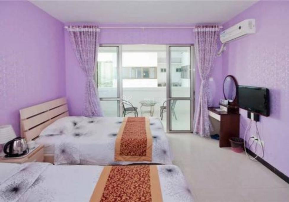 大东海旅游区,温馨舒适海景家庭房
