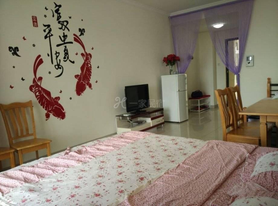 三亚海云花间海景度假公寓豪华海景大床房#2