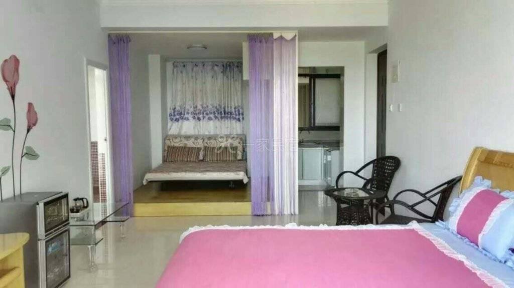三亚海云花间海景度假公寓豪华海景大床房#3