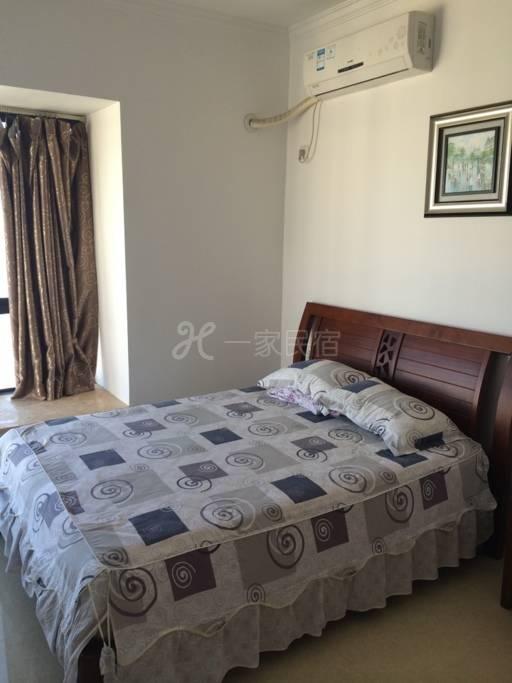 三亚快乐岛公寓,美丽新海岸小区,温馨子母房