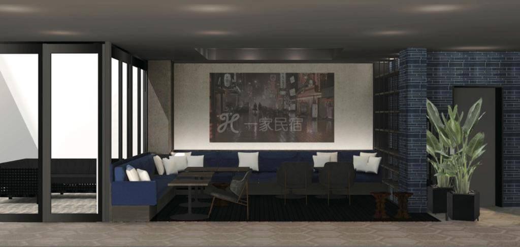 Hotel She Osaka高级双人间