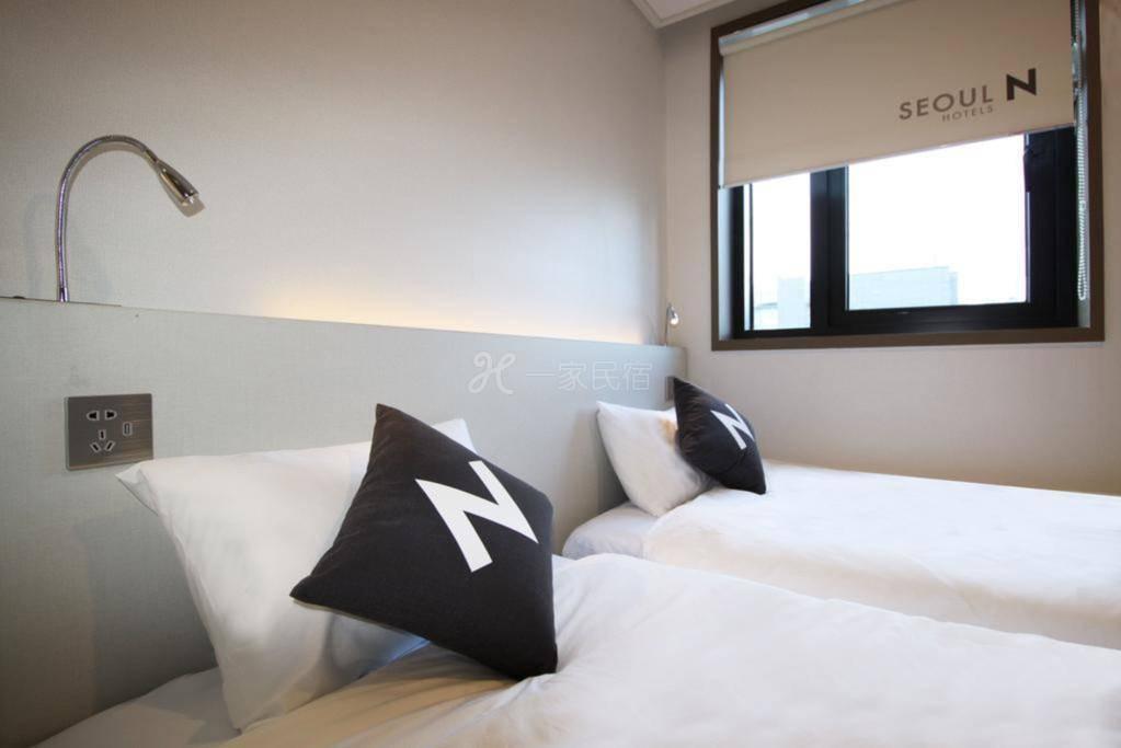 标准双床间