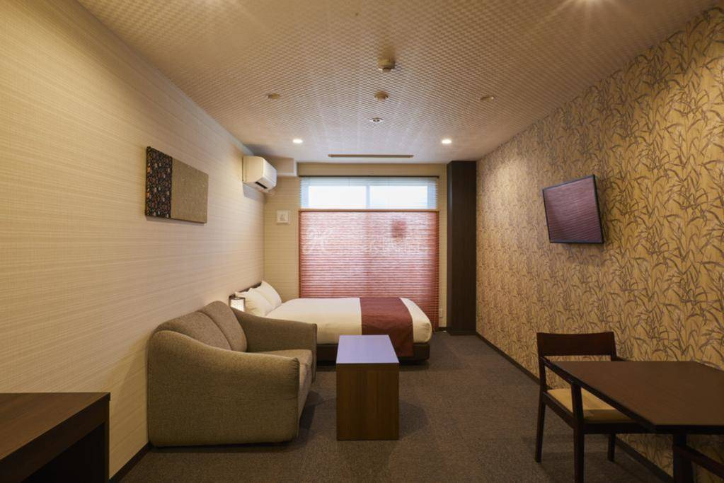 京都壬生德拉旅馆  大床双人房