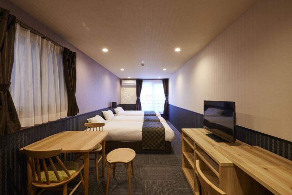 京都二条城酒店式公寓 经济四人家庭房