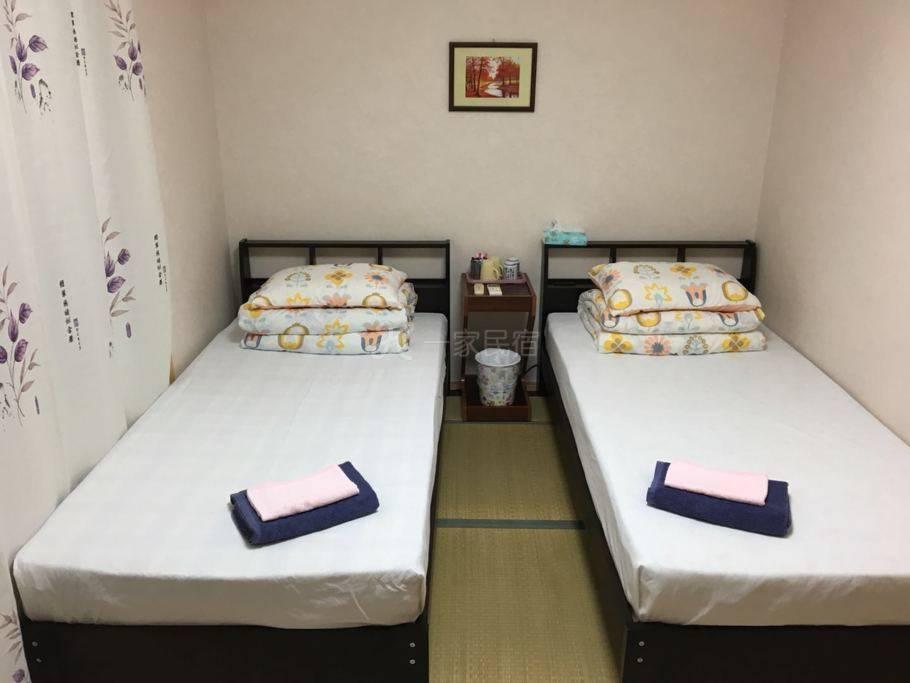 日本自由行京都星旅民宿,包车地接社 双床