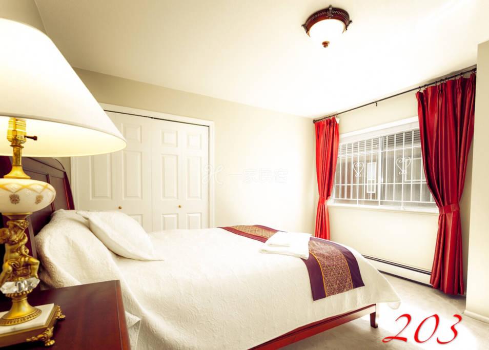 温哥华列治文迦南旅馆203