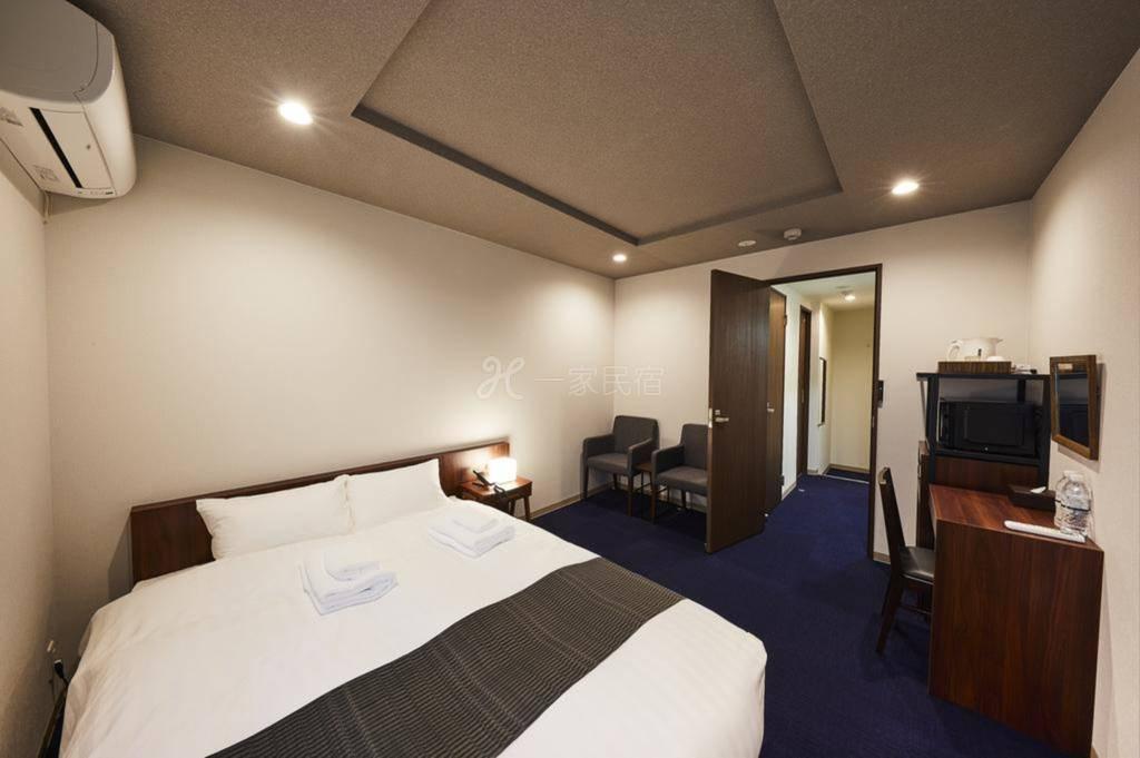 京都清水五条酒店式公寓 豪华双人房