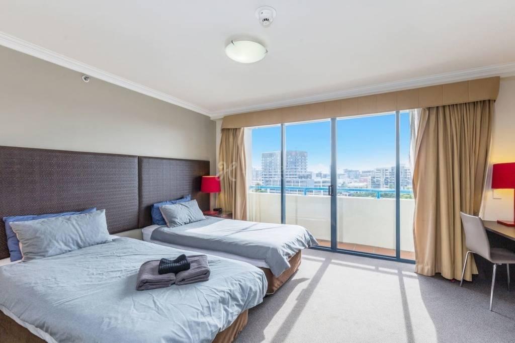 城市一室公寓丨在BNE CBD QBN570的中心