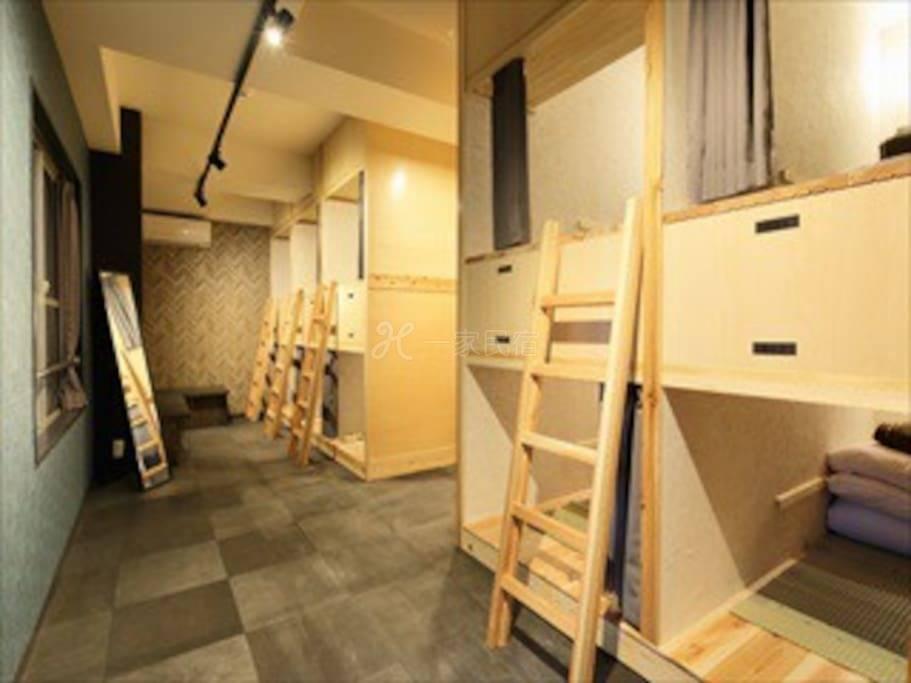 [床位]得奖旅宿JR田端近池袋新宿M3