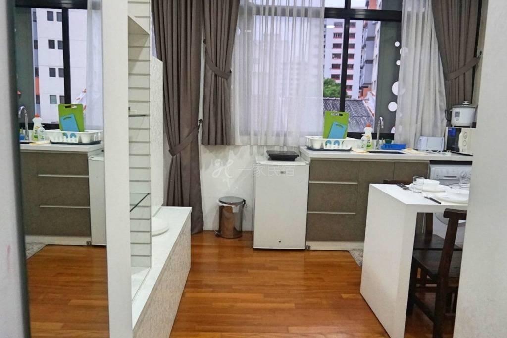! ! !工作室艺术精品公寓@ Katong ON2