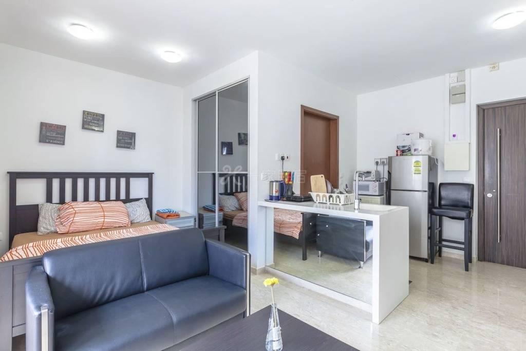 ✪1卧室@ Balestier漂亮的一室公寓设有阳台