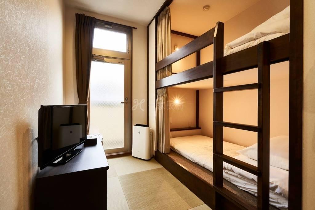 #Room3 距车站步行5分钟 位于京都中心的现代私人房间!!提供免费WIFI