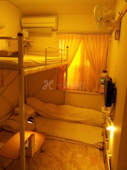 1/4 距离JR八王子车站徒步5分钟之Tokyo8home 东京民宿【八王子之家】- 阁楼床和式房