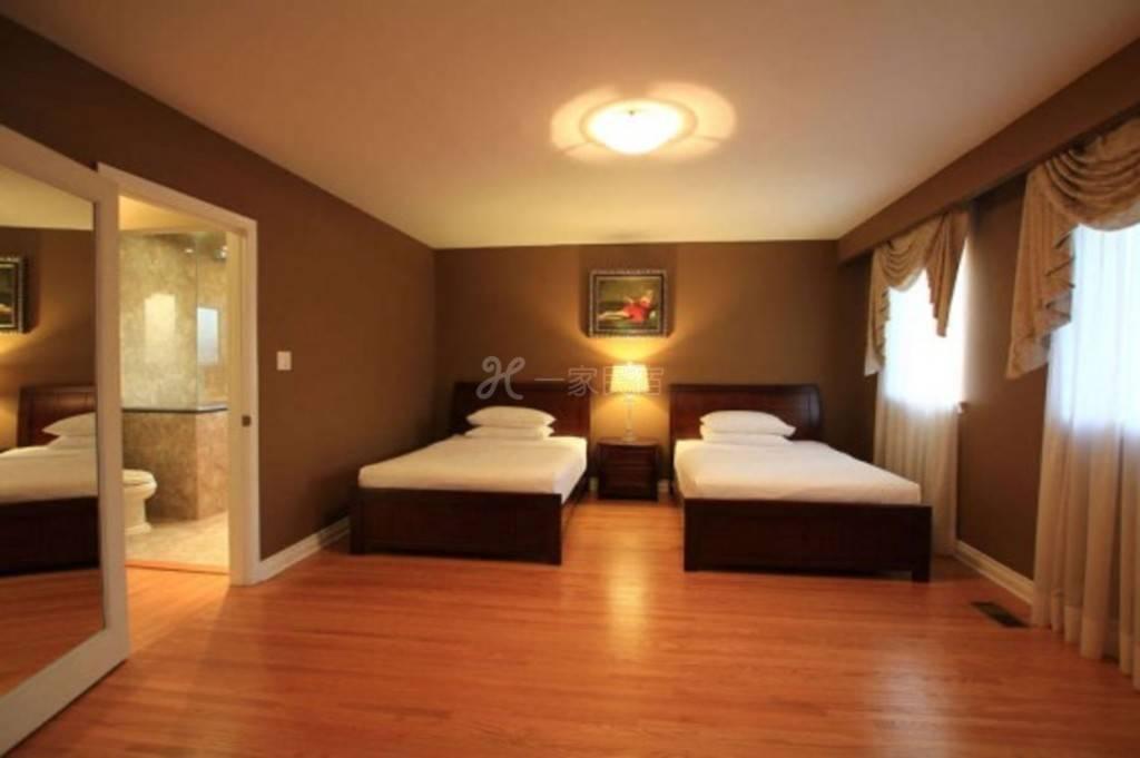 美式新装多伦多 双床房