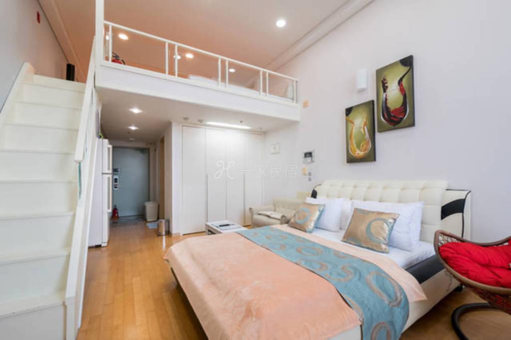 南山塔复式家庭公寓c-六人间整套出租