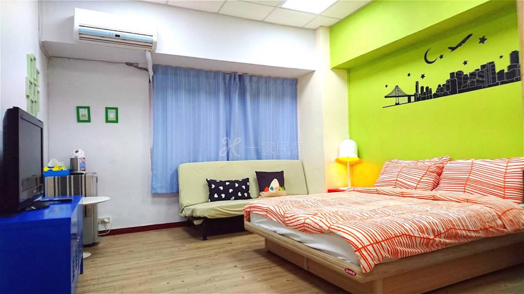 台北--站前雅寓 标准双人套房-有窗房