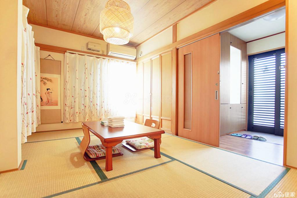 10分直达上野新宿东京枫叶别墅大榻榻米房