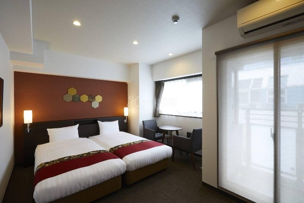 京都祇园毘沙门酒店式公寓 双人房