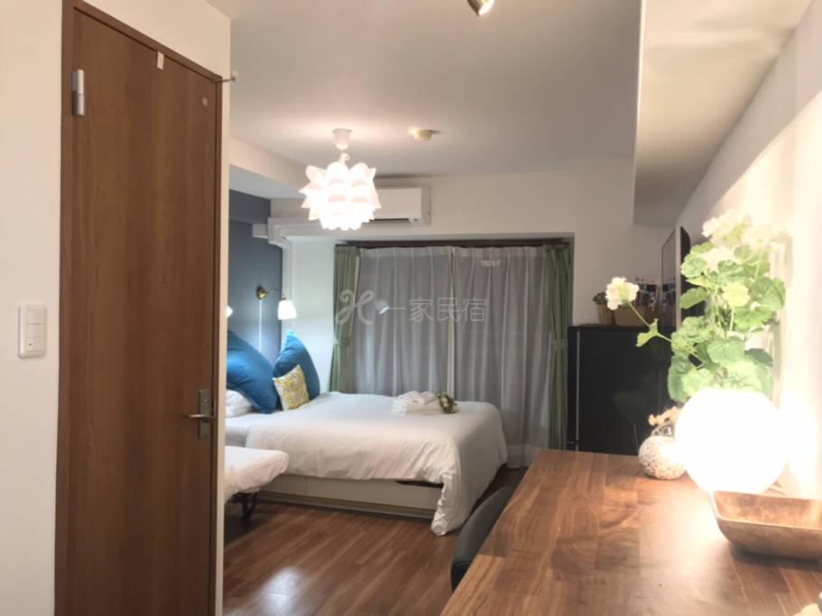 位于涩谷109大楼傍优雅现代风格独立公寓