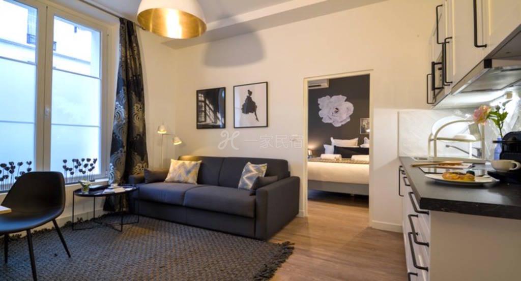 圣奥古斯丁公寓-巴黎二区卢浮宫