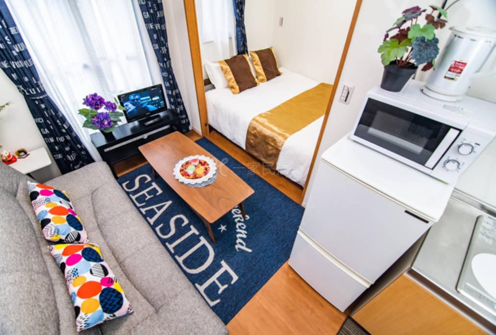 公寓式酒店:全新一栋秋叶原浅草天空树台场迪士尼