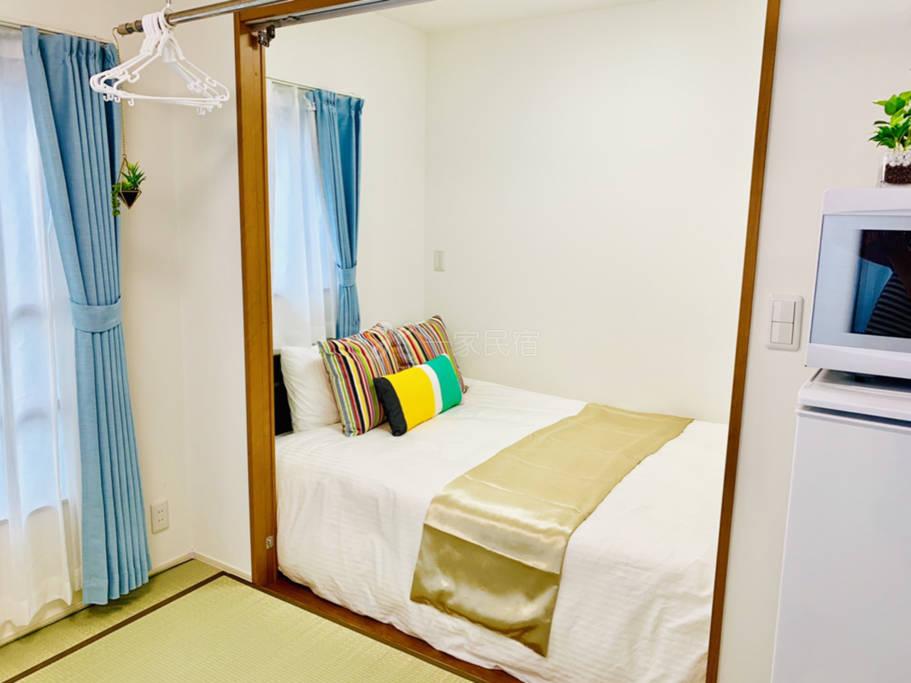 公寓式酒店:一栋新楼秋叶原、迪士尼、台场、晴空塔、新宿、成田机场、羽田机场便利。