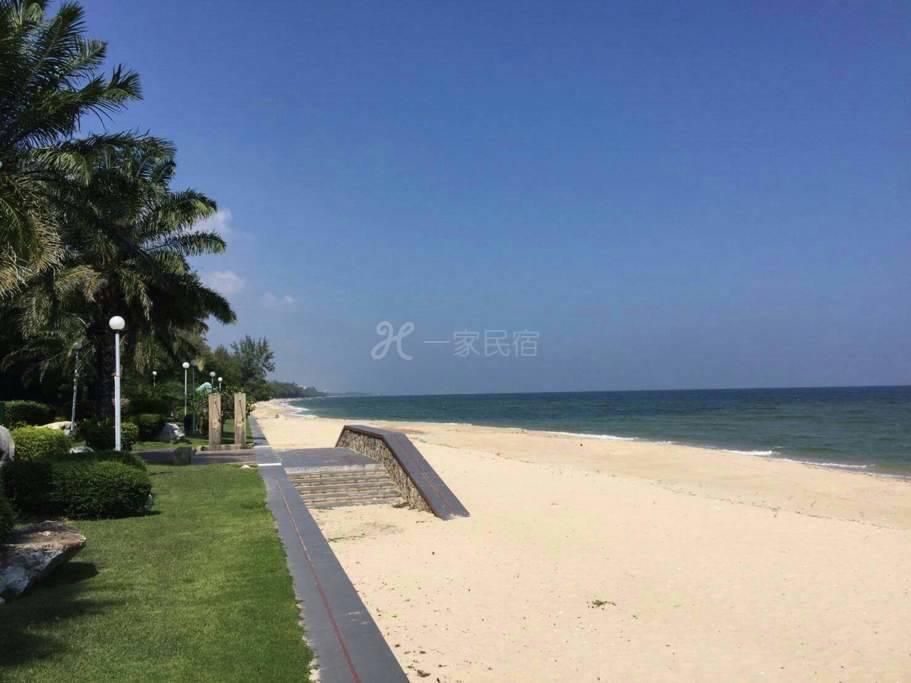 离曼谷2小时车程的泰国着名海滩美景房——可住4人