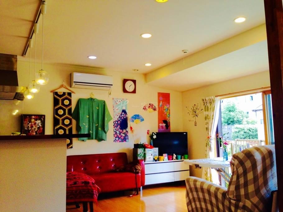 池袋附近!日本文化的房子和服,动漫茶道1
