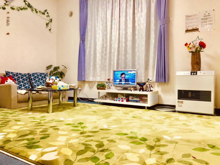 3日式榻榻米房间免费WI-FI札幌市中心