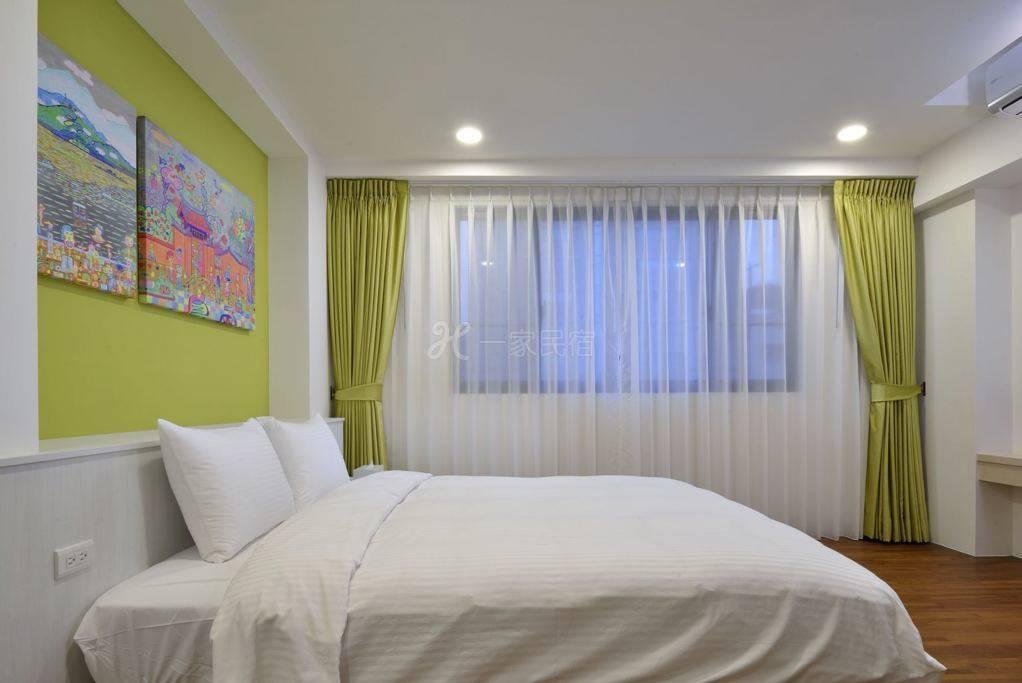 豪华双人房。高雅舒适。