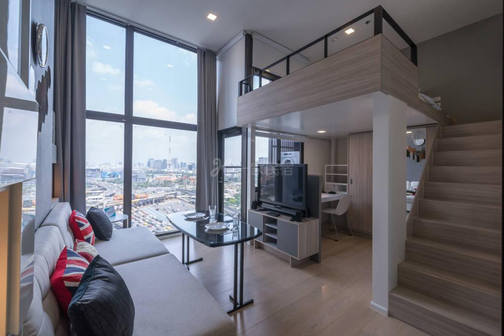 》阿素-粦铃·市中心·天花板高度·1室《
