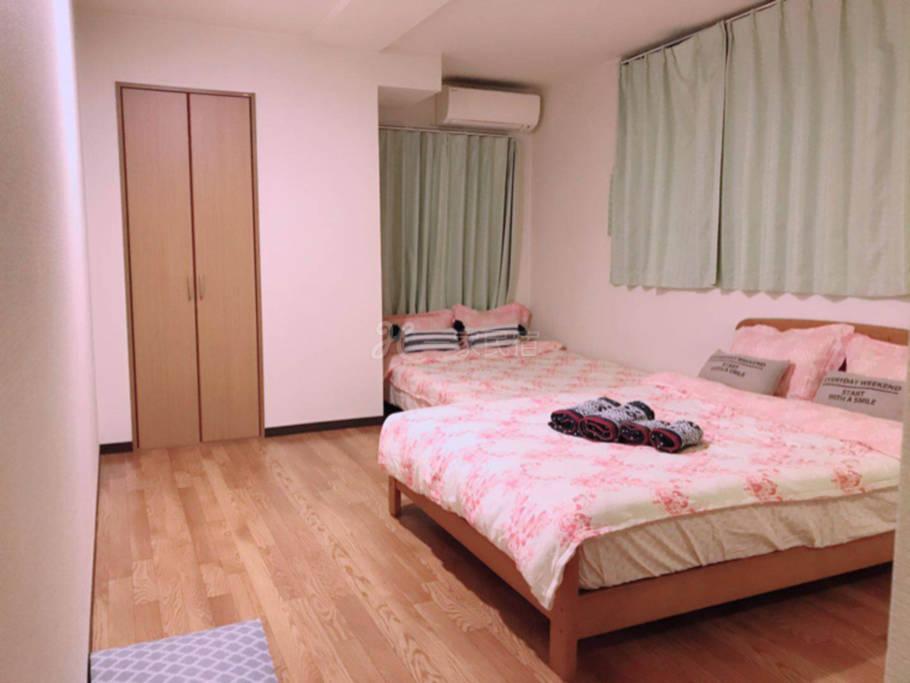 岛之内温馨双床房