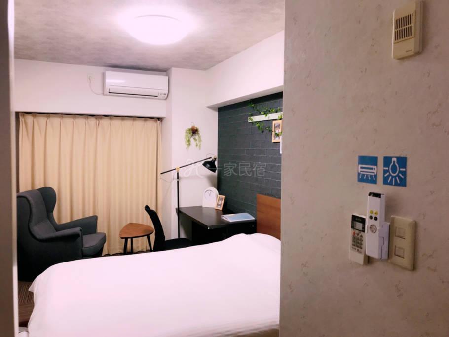 【京都市中心四条】酒店式公寓独立房间502