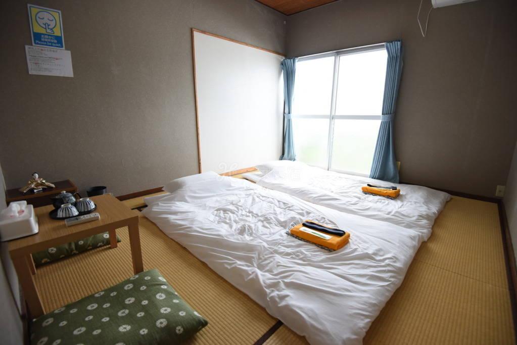 可观富士山!榻榻米双人房