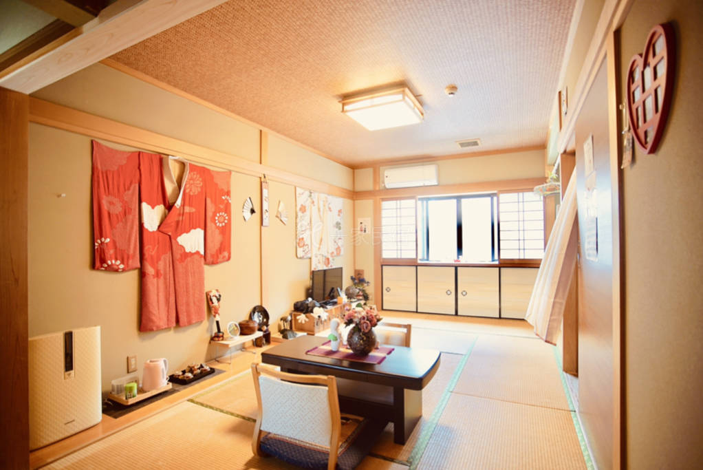 翔龙庵久保家京都站免费接送榻榻米独立卫浴单间房