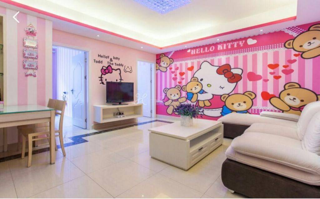 (Kitty猫)精装园景2室1厅