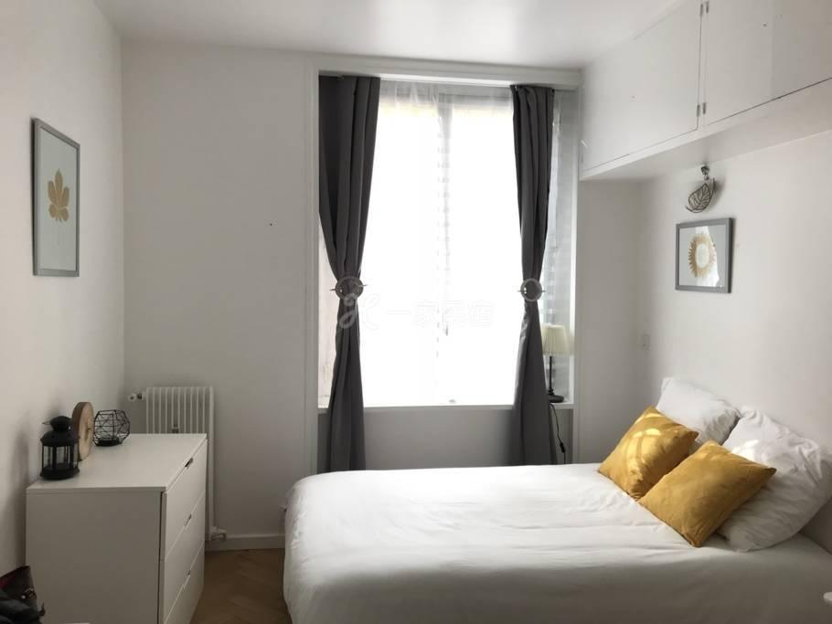 巴黎近圣母院卢浮宫-杜那双人酒店公寓