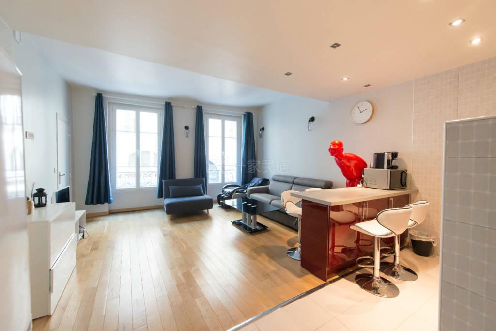 巴黎玛黒卢浮宫--唐乐5人公寓