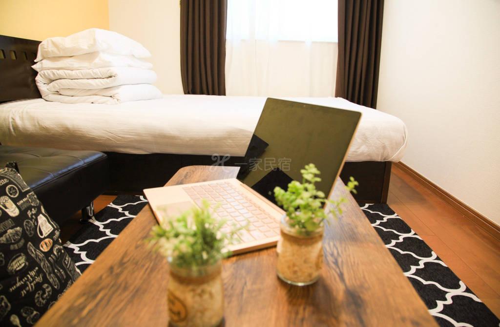 【北小岩101】东京全新精装美式大床房公寓,设施齐全、地铁站旁!机场直达