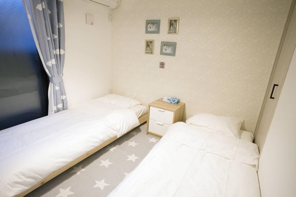 新!温馨双床周边便利地铁直达东京塔、巨蛋